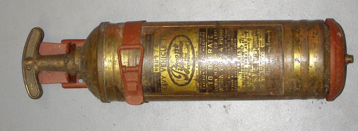 fire extinguisher note